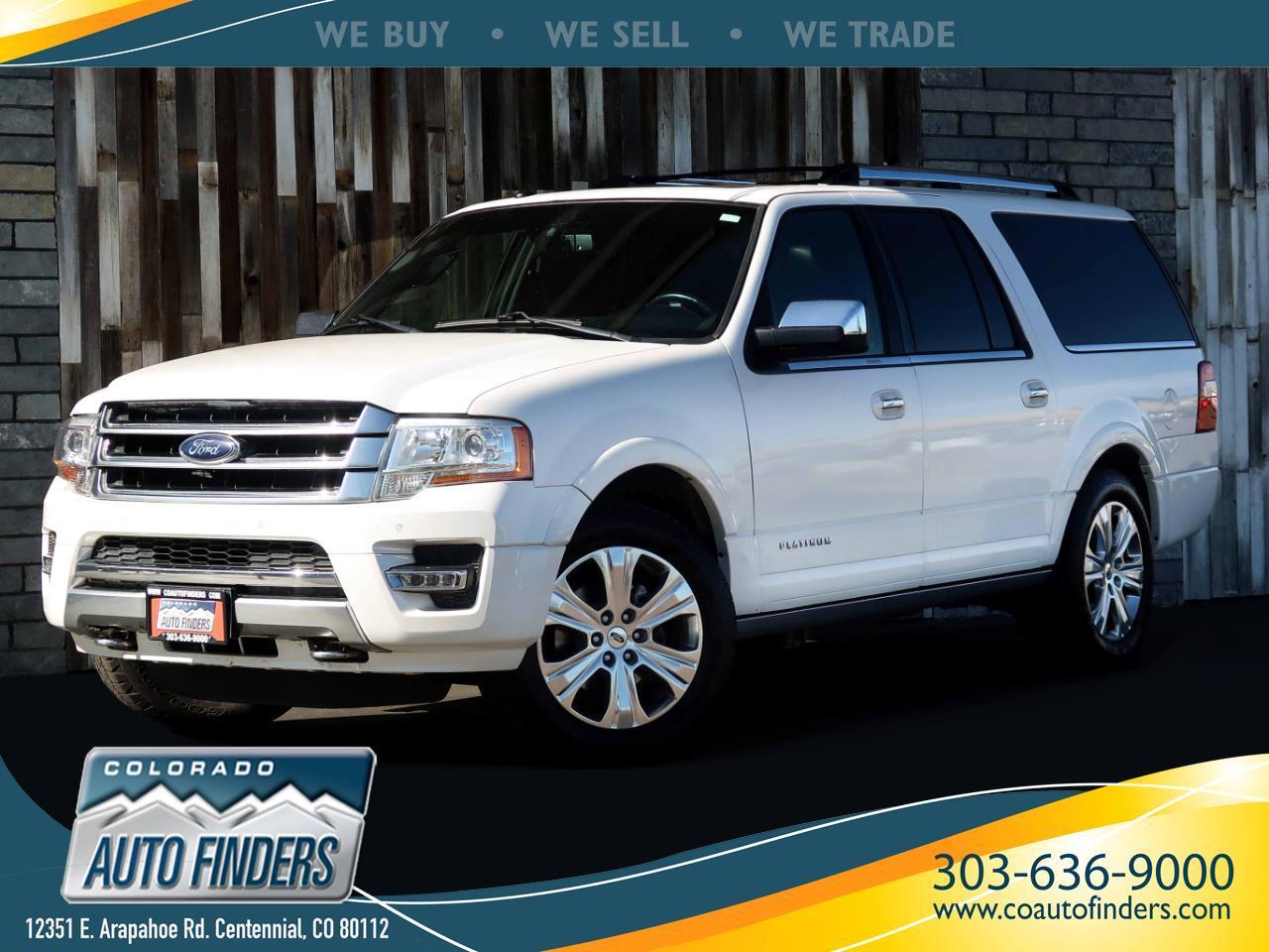 Ford Expedition EL Platinum 4WD 2016