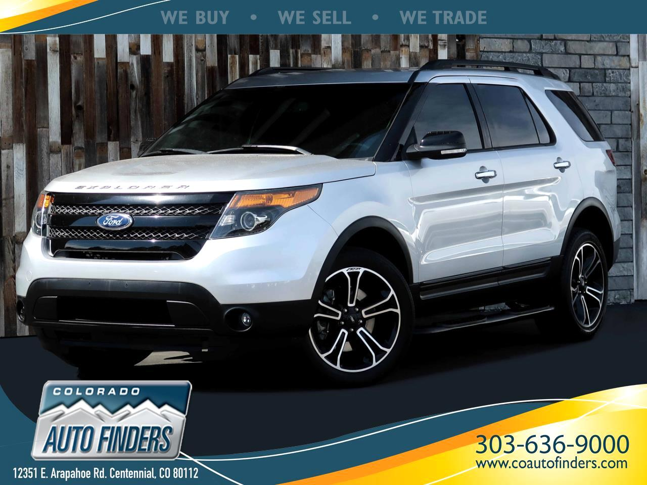 Ford Explorer Sport 4WD 2013