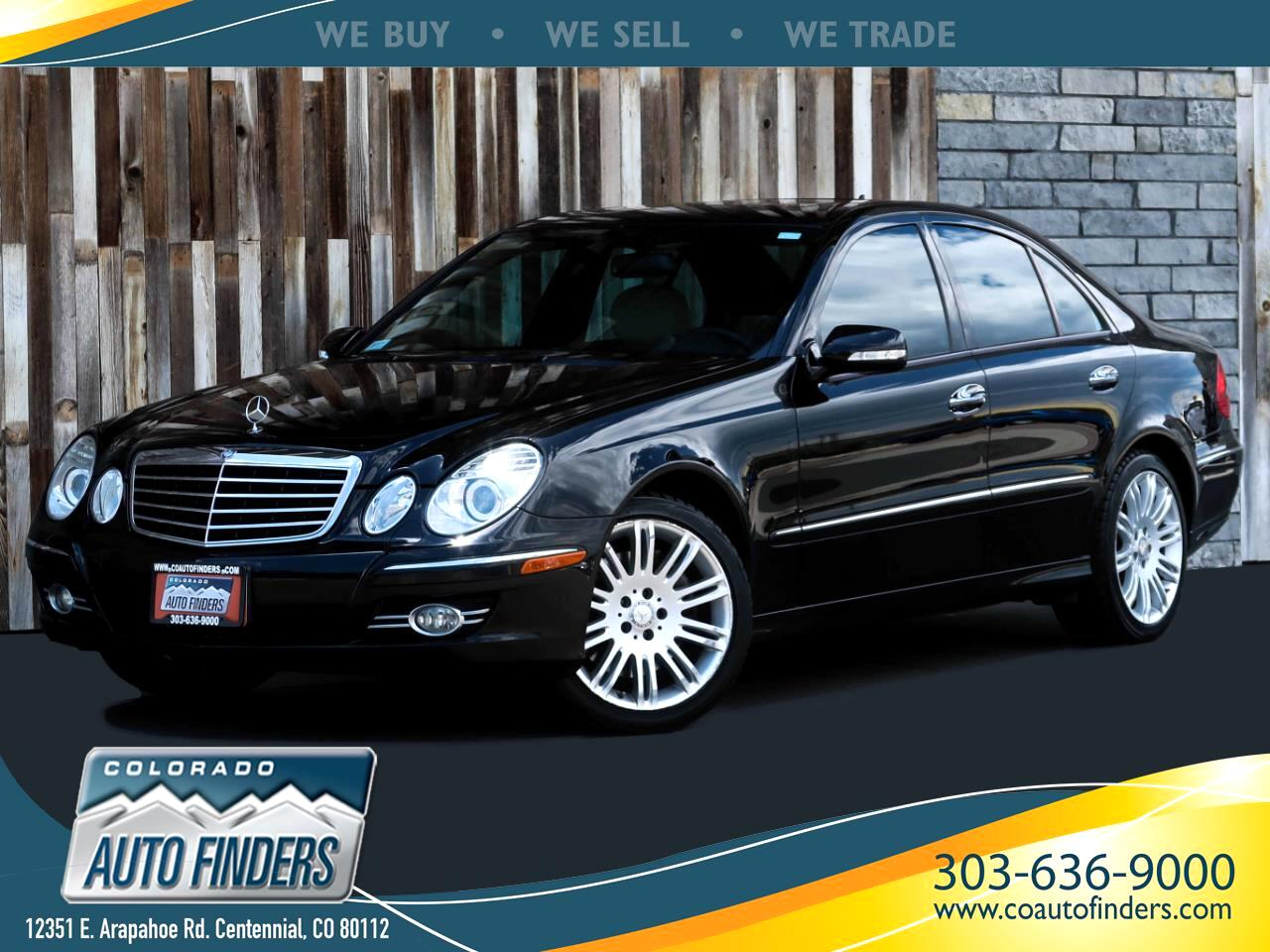 Mercedes-Benz E-Class E350 Luxury 4MATIC Sedan 2008