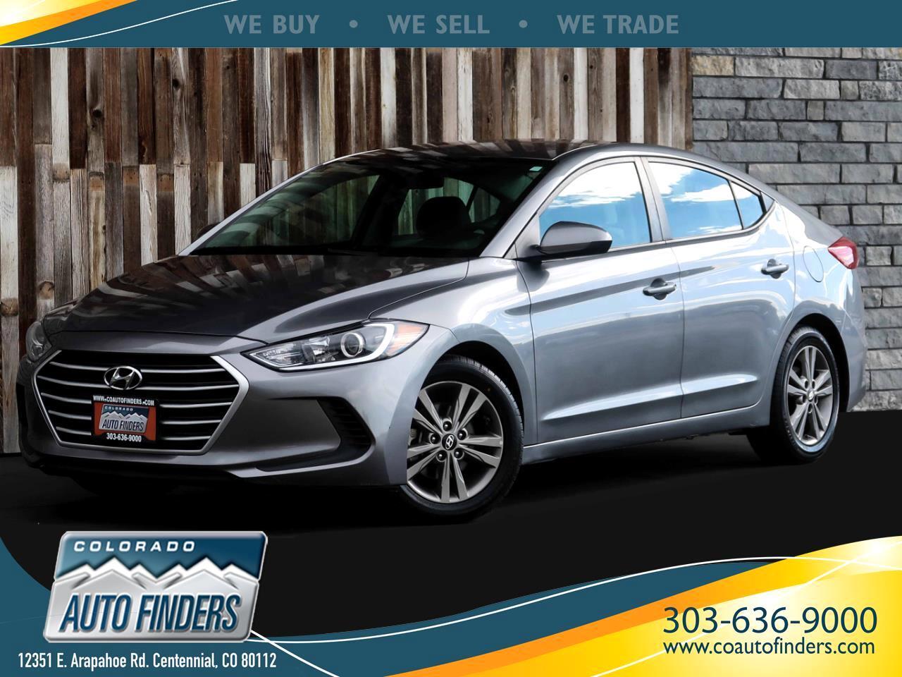Hyundai Elantra SEL Auto 2018