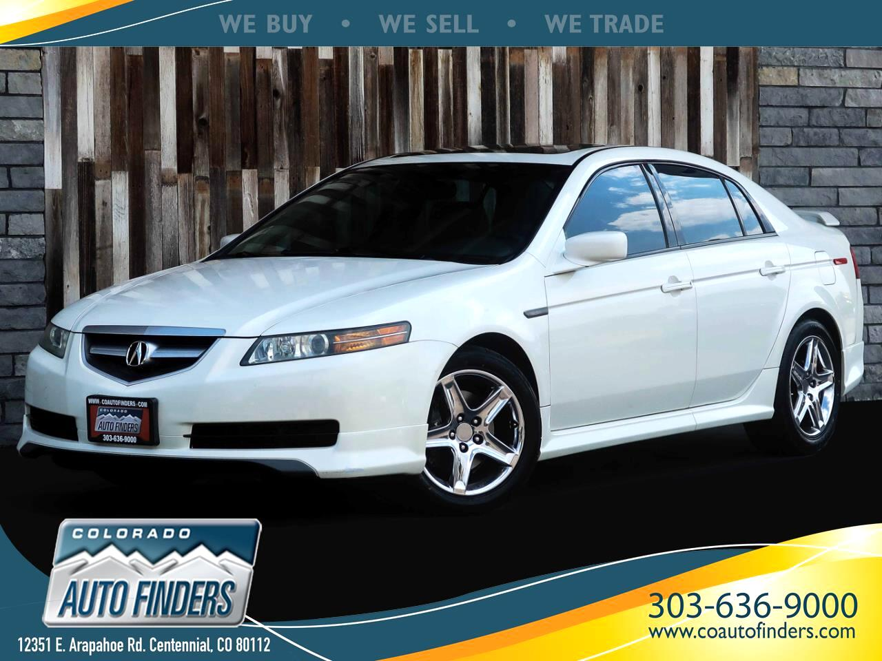 Acura TL 6-speed MT with Navigation System 2004