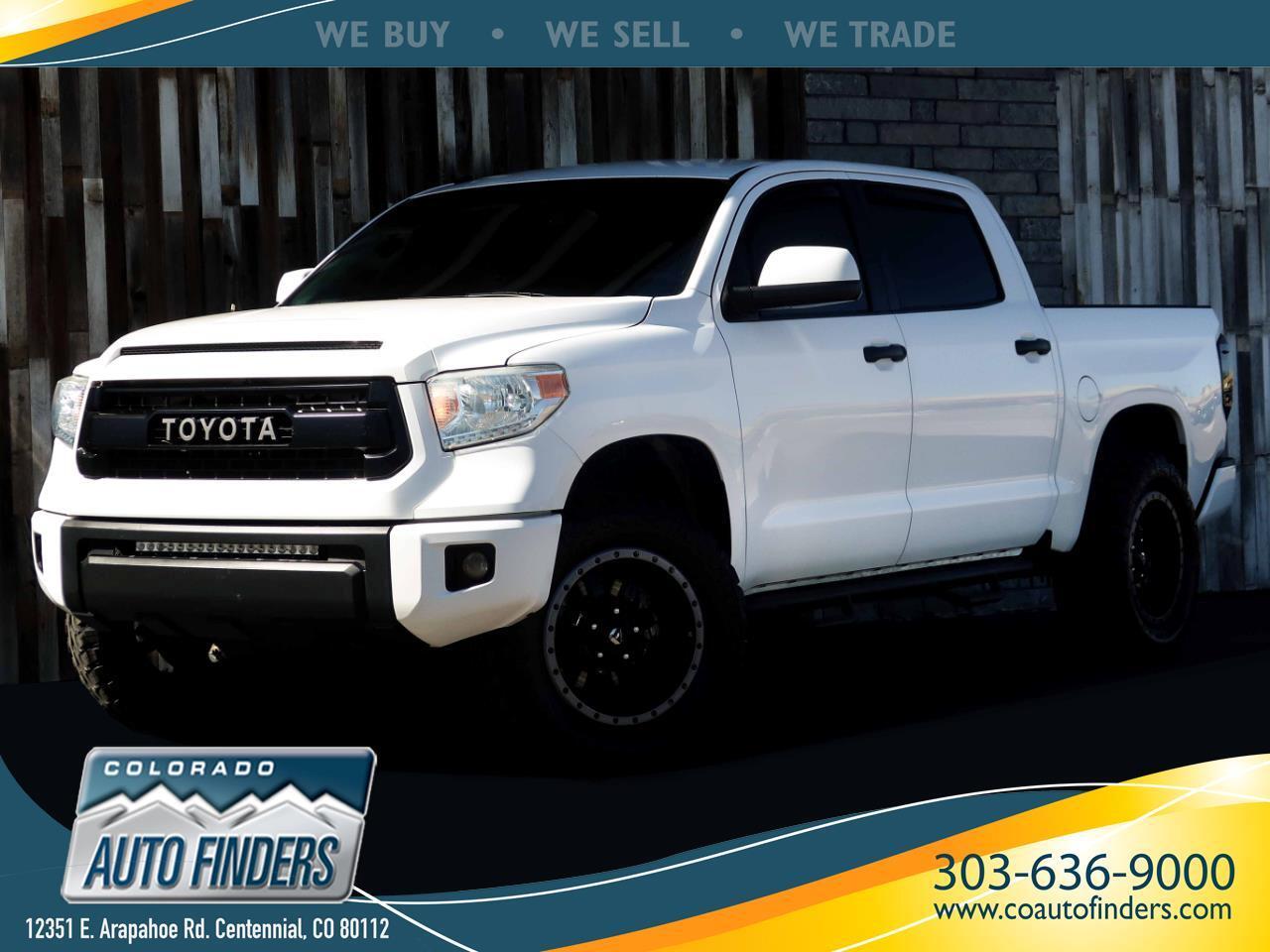 Toyota Tundra SR5 5.7L V8 FFV CrewMax 4WD 2014