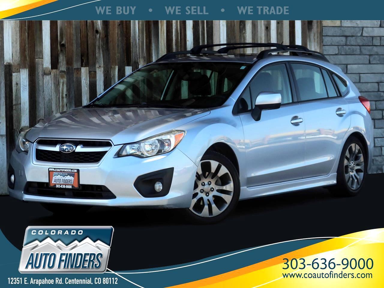 Subaru Impreza 2.0i Sport Limited 2014
