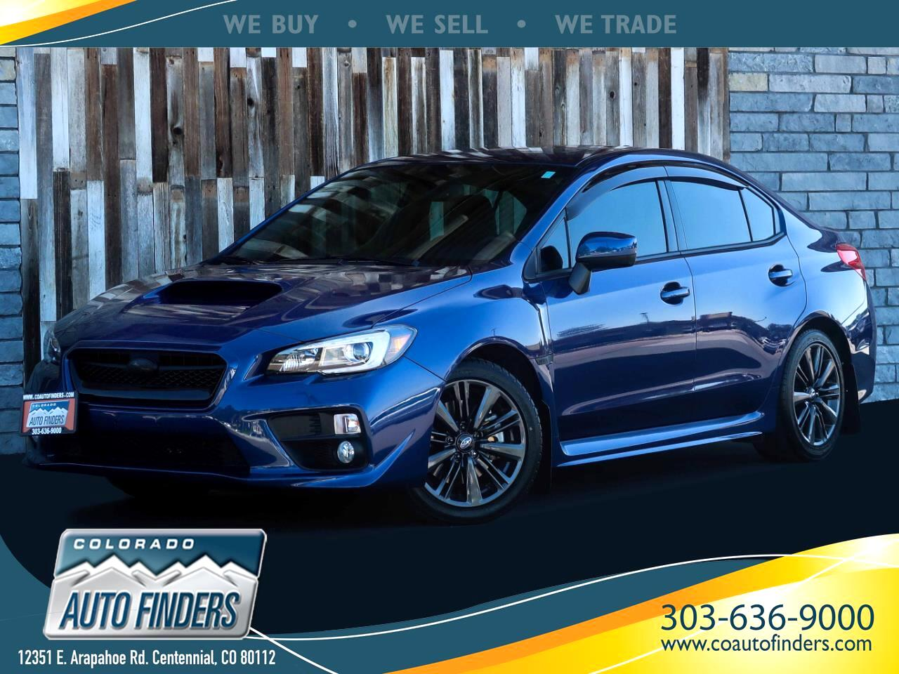 Subaru WRX Limited 4-Door 2015