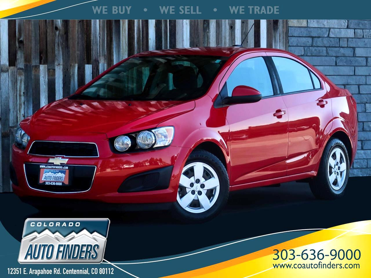 Chevrolet Sonic LS Manual Sedan 2015