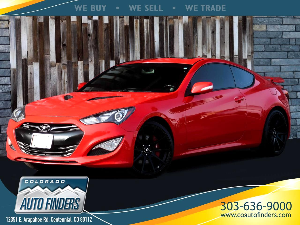 Hyundai Genesis Coupe 3.8 Track Manual 2013