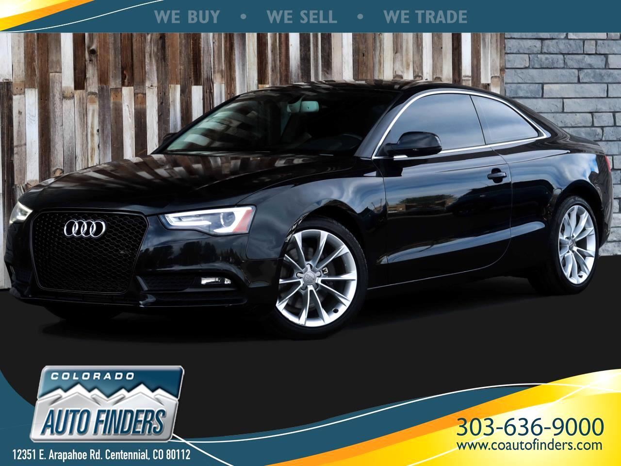 Audi A5 Coupe 2.0T quattro Manual 2013