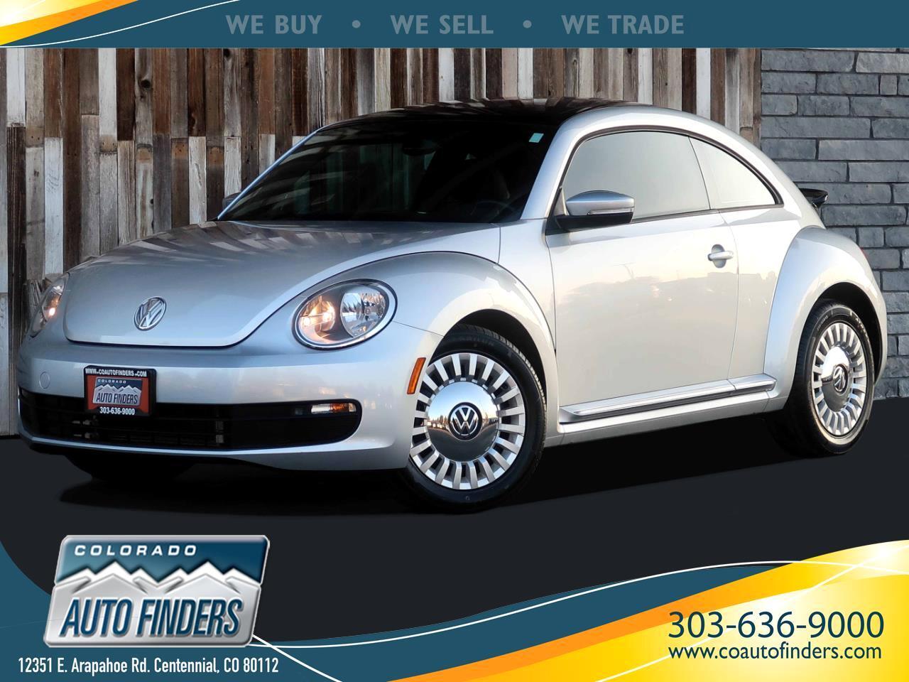 Volkswagen Beetle 1.8T 6A 2015