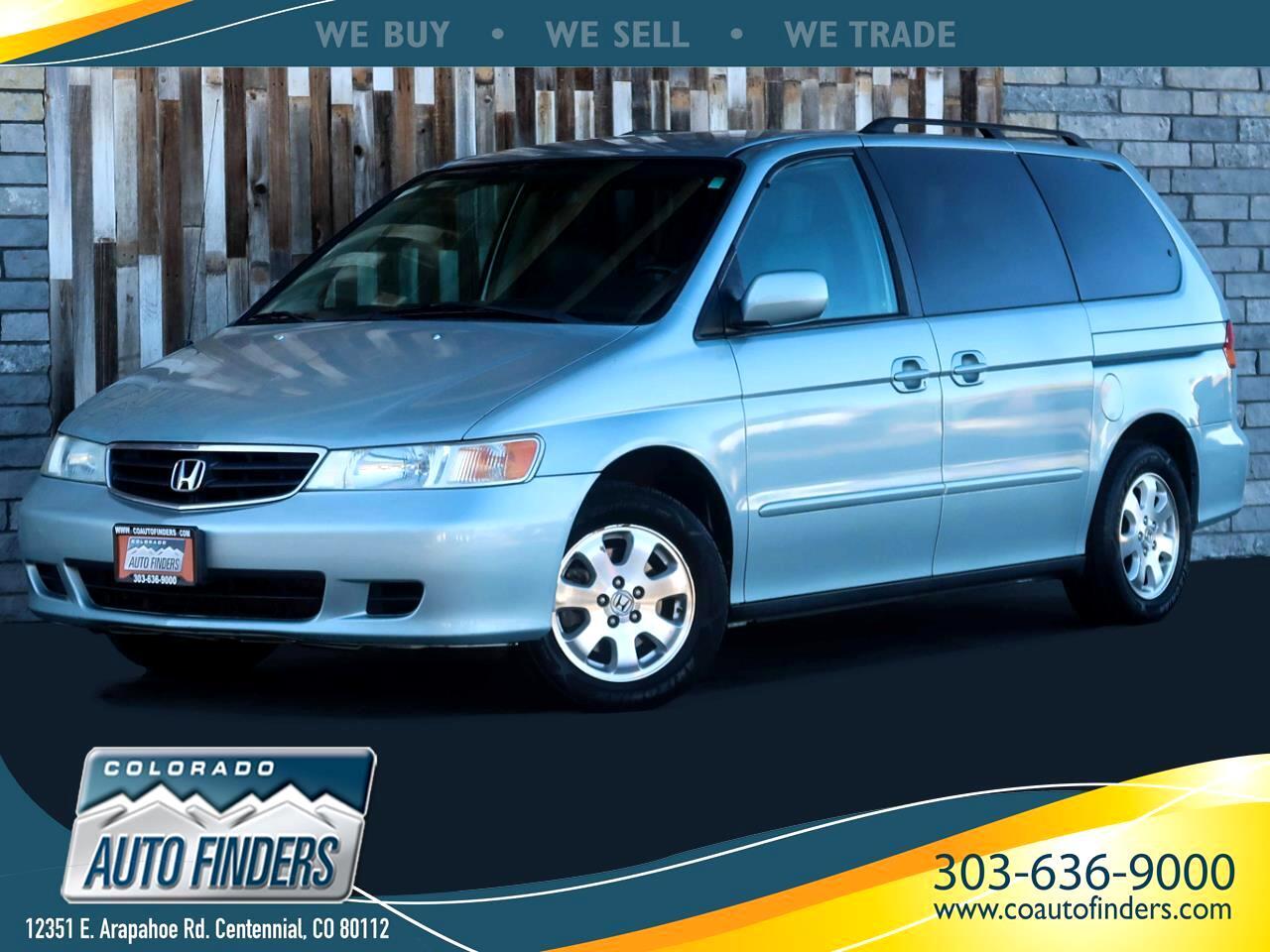 Honda Odyssey EX w/ Leather and DVD 2004