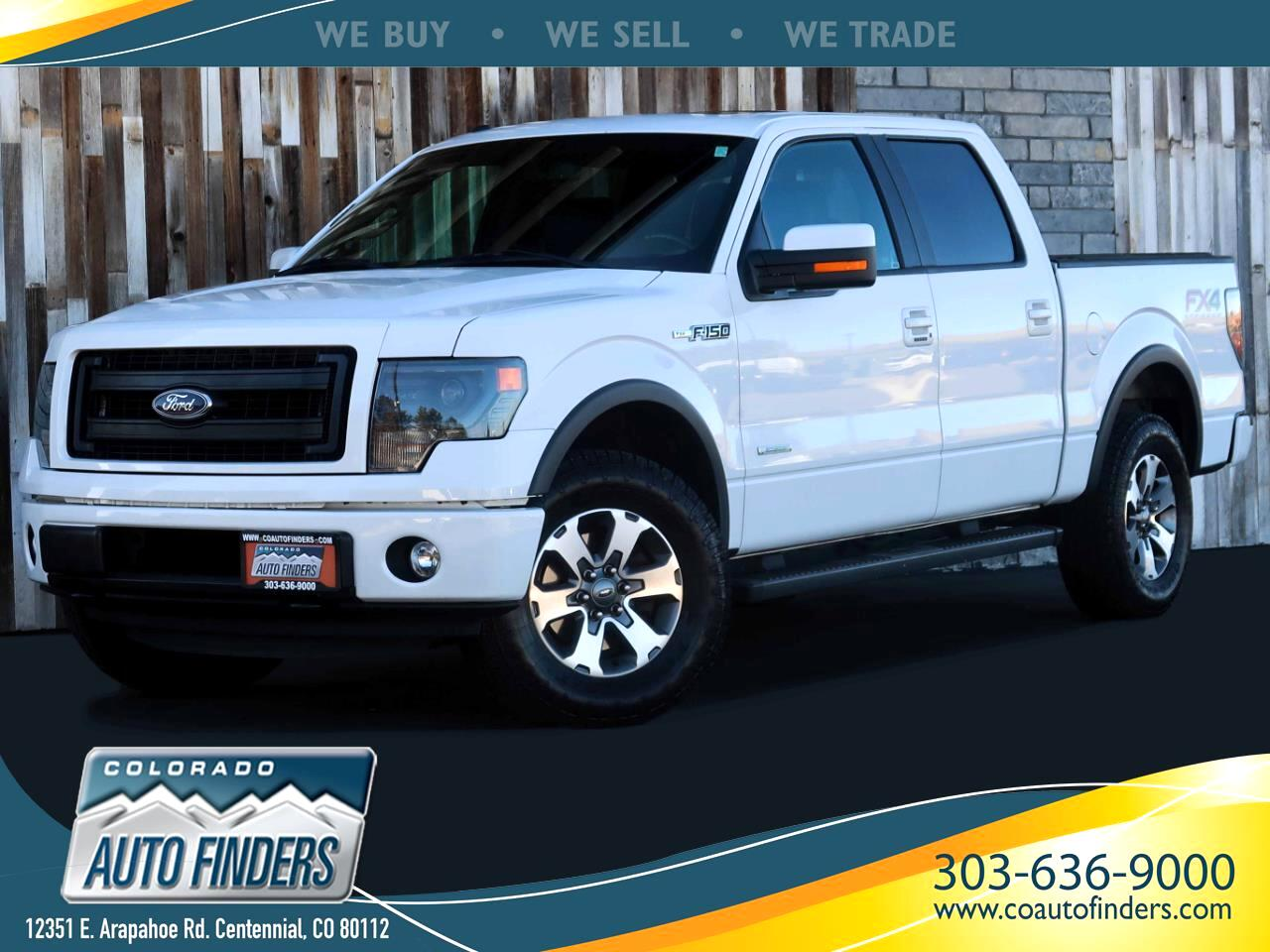 Ford F-150 FX4 SuperCrew 6.5-ft. Bed 4WD 2014