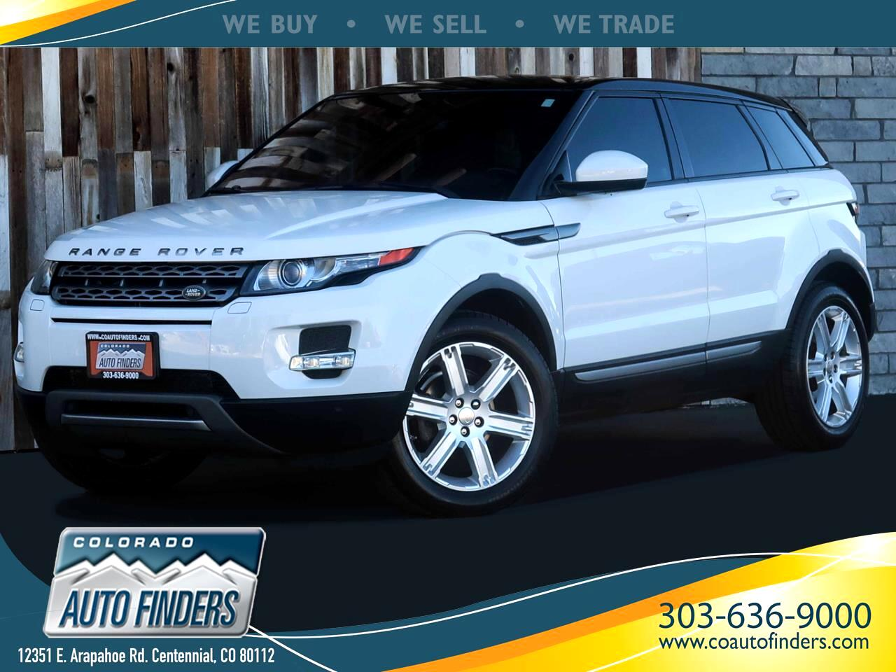 Land Rover Range Rover Evoque Pure Plus 5-Door 2014