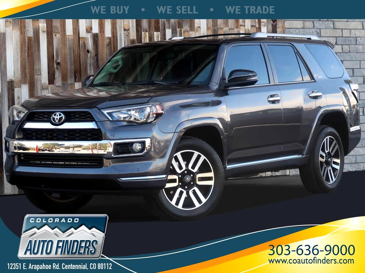 Toyota 4Runner 4dr Limited V6 Auto 4WD (Natl) 2014