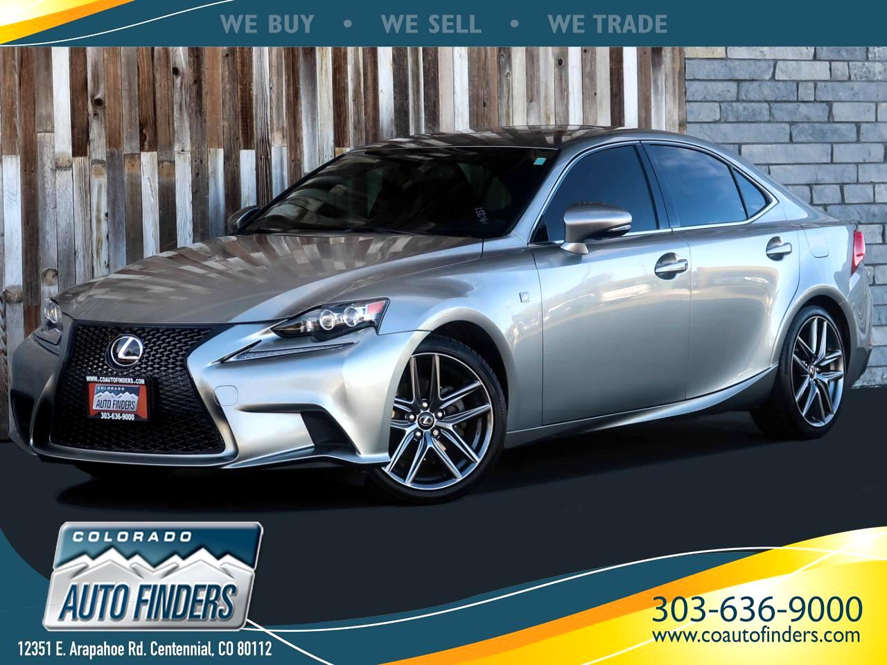 Lexus IS 250 4dr Sport Sdn Auto AWD 2015