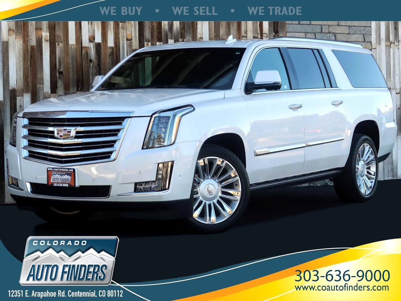 Cadillac Escalade ESV Platinum 4WD 2020