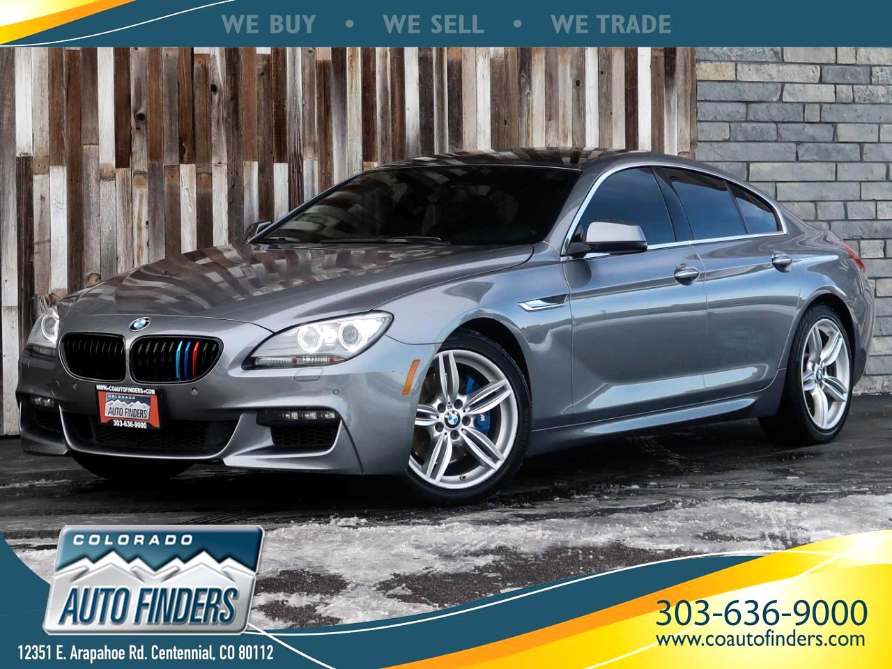 BMW 6-Series 650xi Grand Coupe 2013