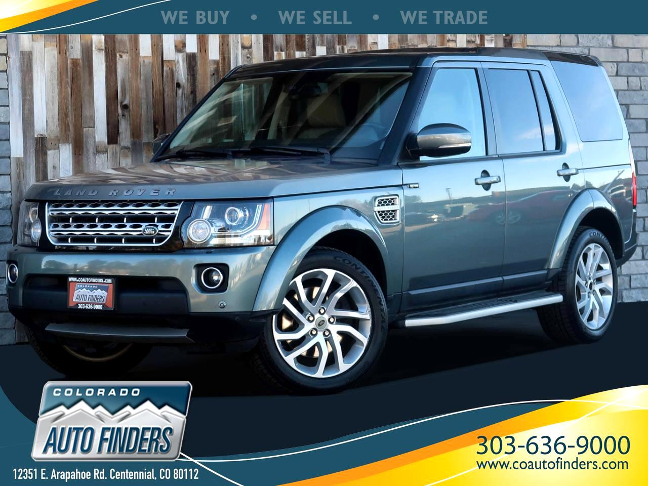 Land Rover LR4 HSE Luxury 2015
