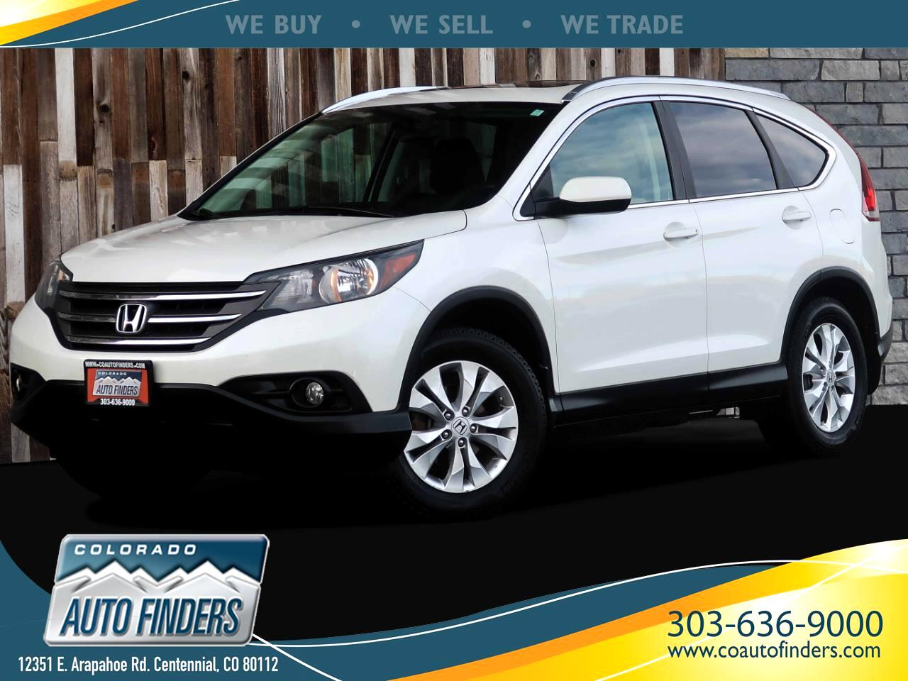 Honda CR-V EX-L 4WD 5-Speed AT 2013