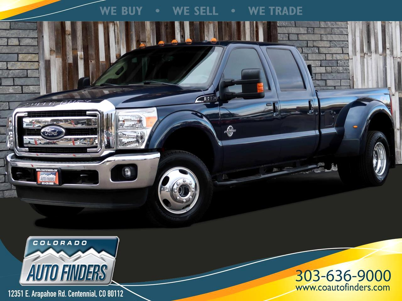 Ford F-350 SD Lariat Crew Cab Long Bed 4WD DRW 2016