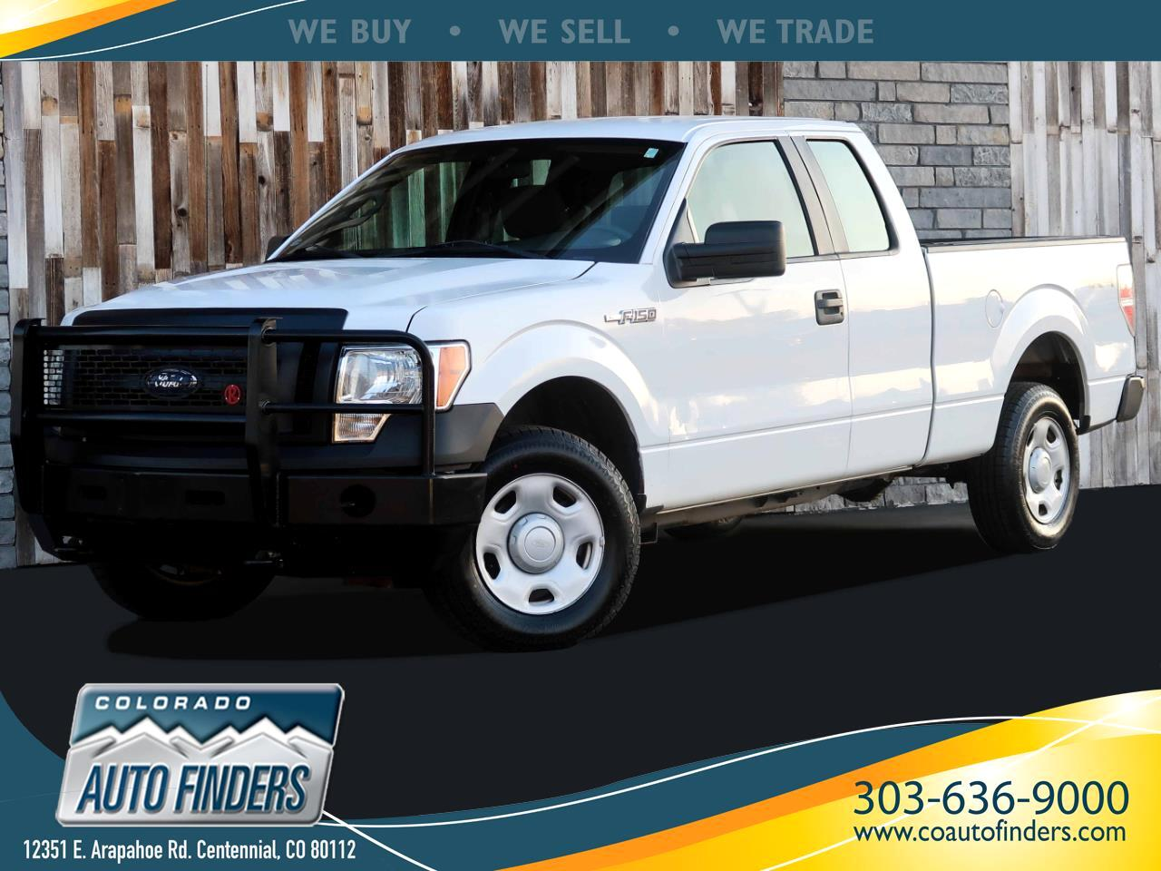 "Ford F-150 4WD SuperCab 145"" XL 2009"