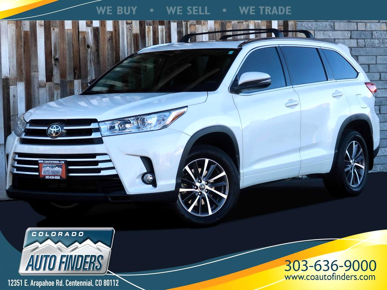 Toyota Highlander XLE AWD (Natl) 2018
