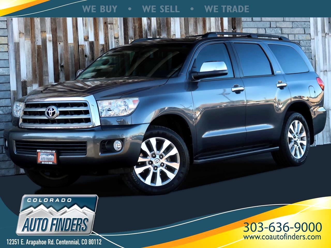Toyota Sequoia Limited 2WD 2014