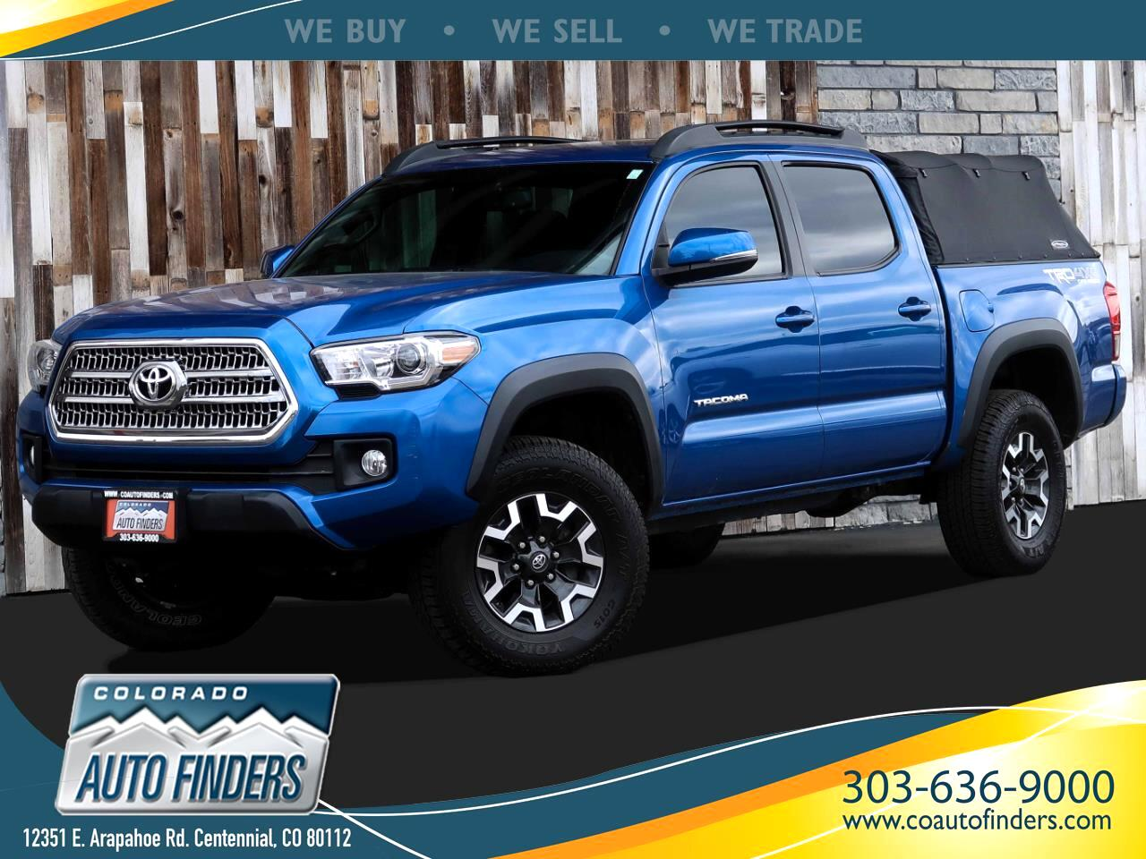 Toyota Tacoma 4WD Double Cab V6 AT TRD Off Road (Natl) 2016