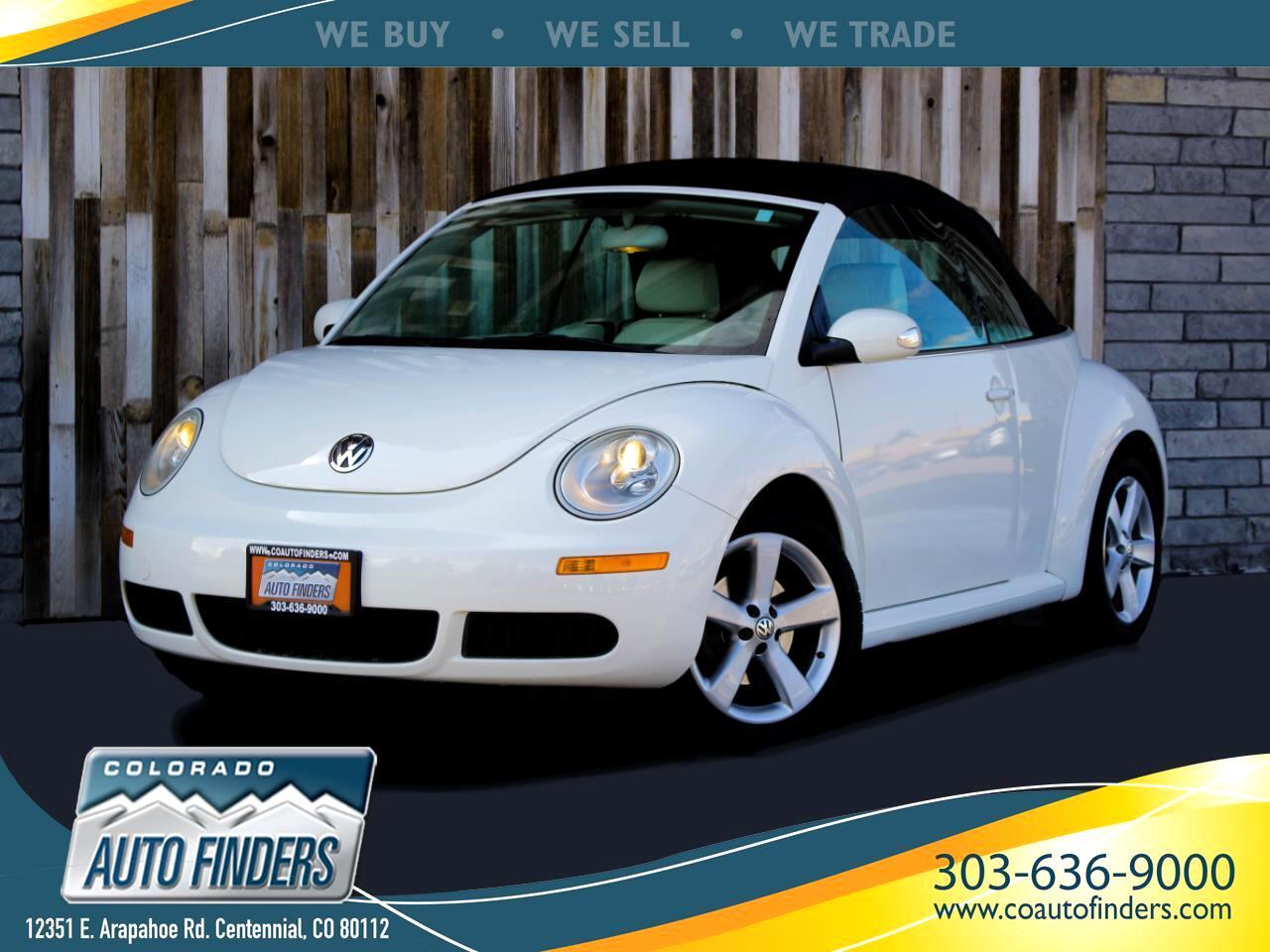 Volkswagen New Beetle 2.5L PZEV Convertible 2007