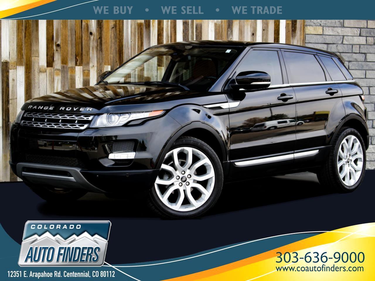 Land Rover Range Rover Evoque Prestige Premium 5-Door 2012