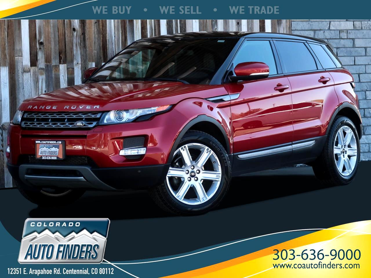 Land Rover Range Rover Evoque Pure Plus 5-Door 2013