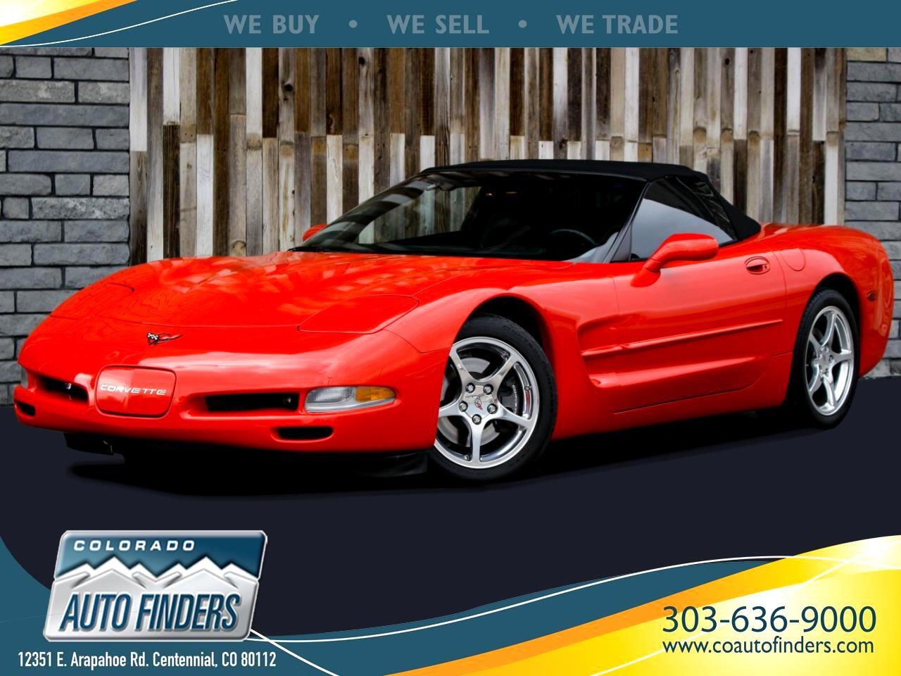 Chevrolet Corvette Convertible 1999