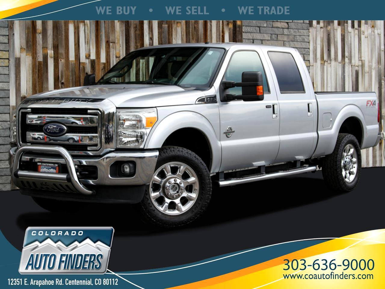 Ford F-250 SD Lariat Crew Cab Long Bed 4WD 2016