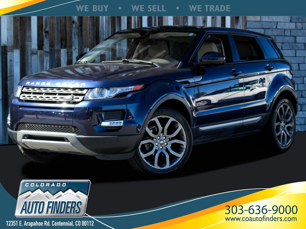 Land Rover Range Rover Evoque Pure Plus 5-Door 2015