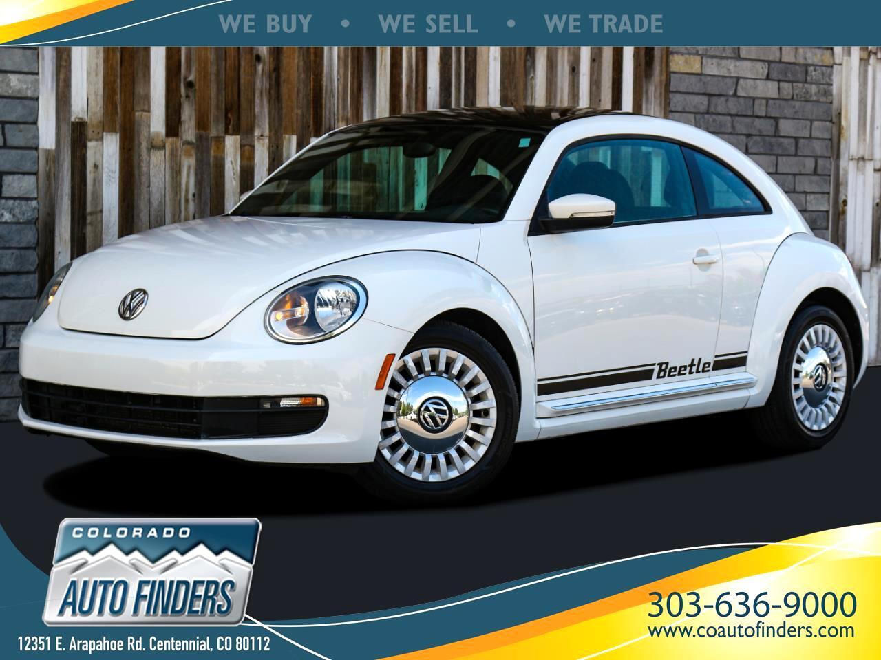 Volkswagen Beetle 2.5L w/Sunroof Sound & Nav 2013