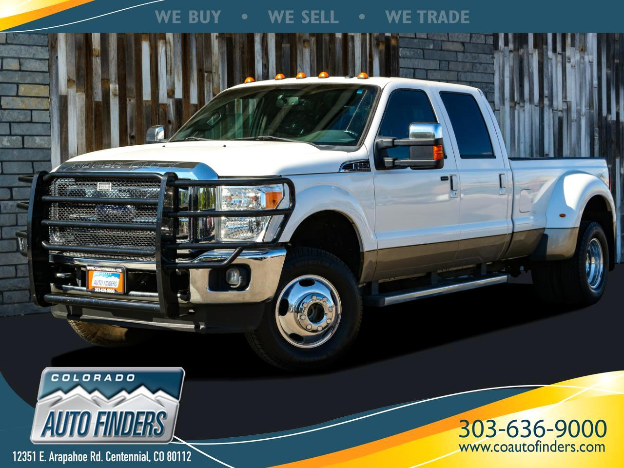 Ford F-350 SD Lariat Crew Cab Long Bed 4WD DRW 2012