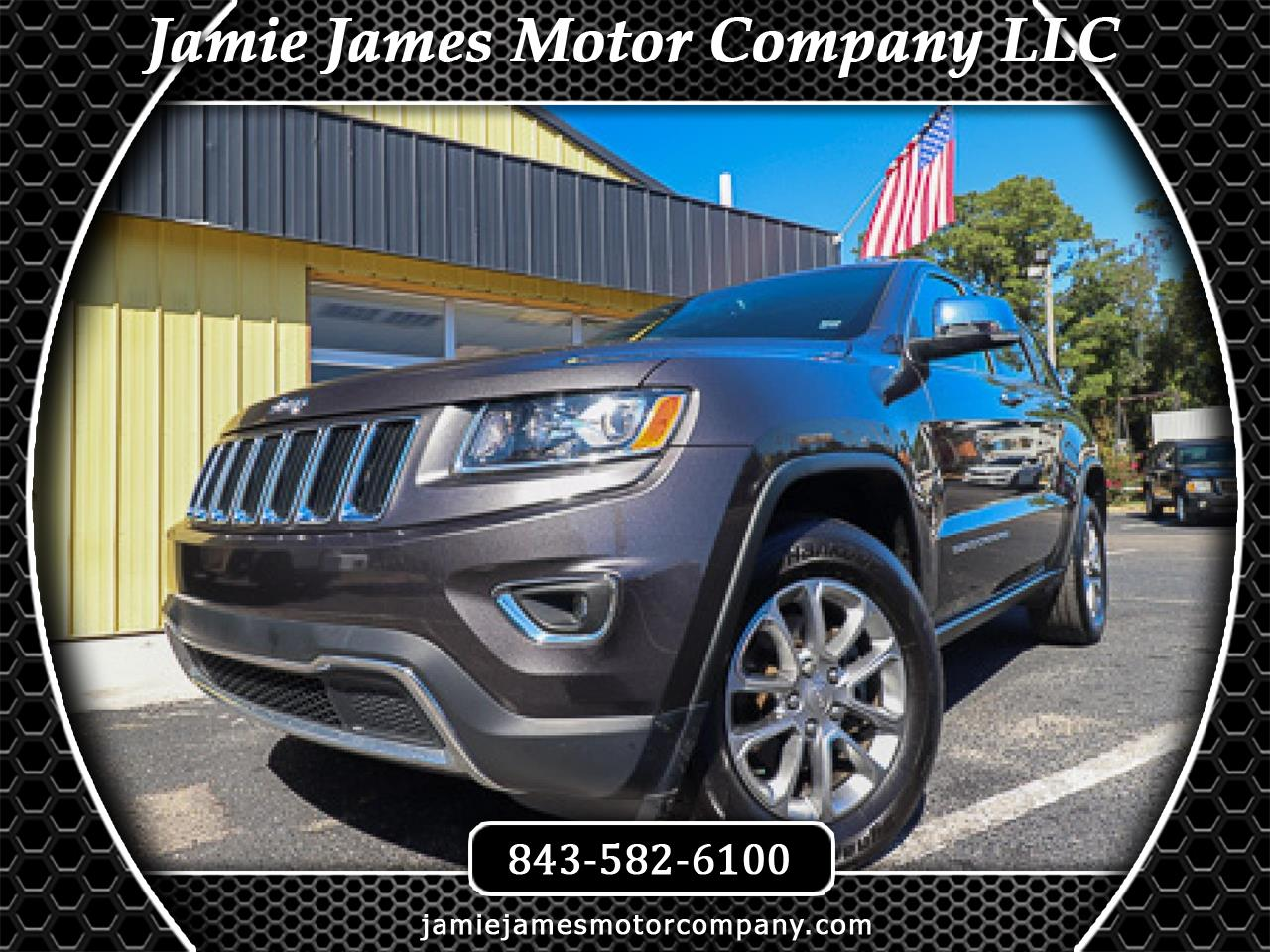 Jeep Grand Cherokee 4WD 4dr Limited 2016
