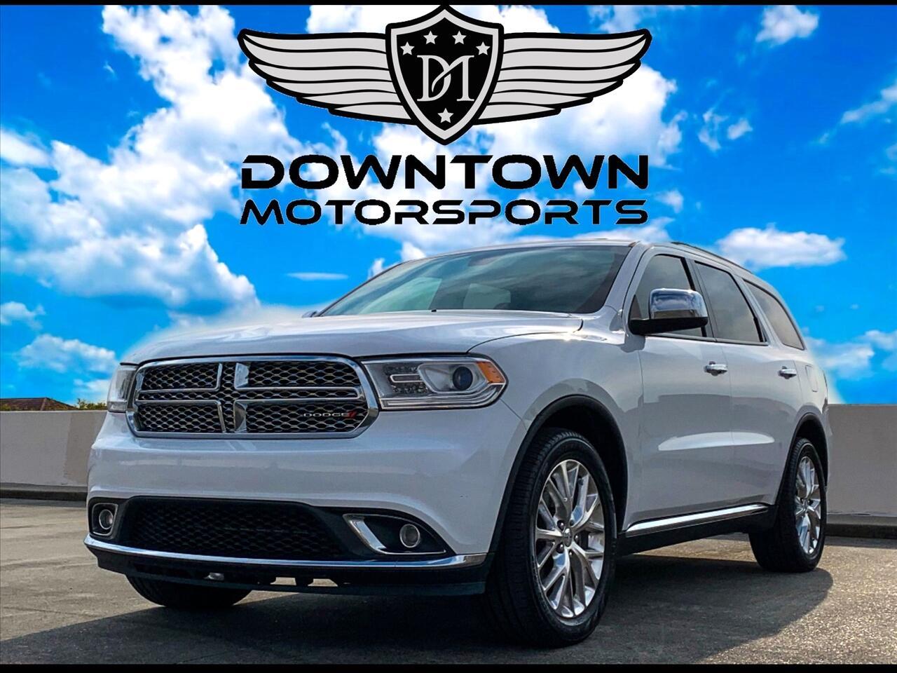 2017 Dodge Durango SXT Plus Sport Utility 4D