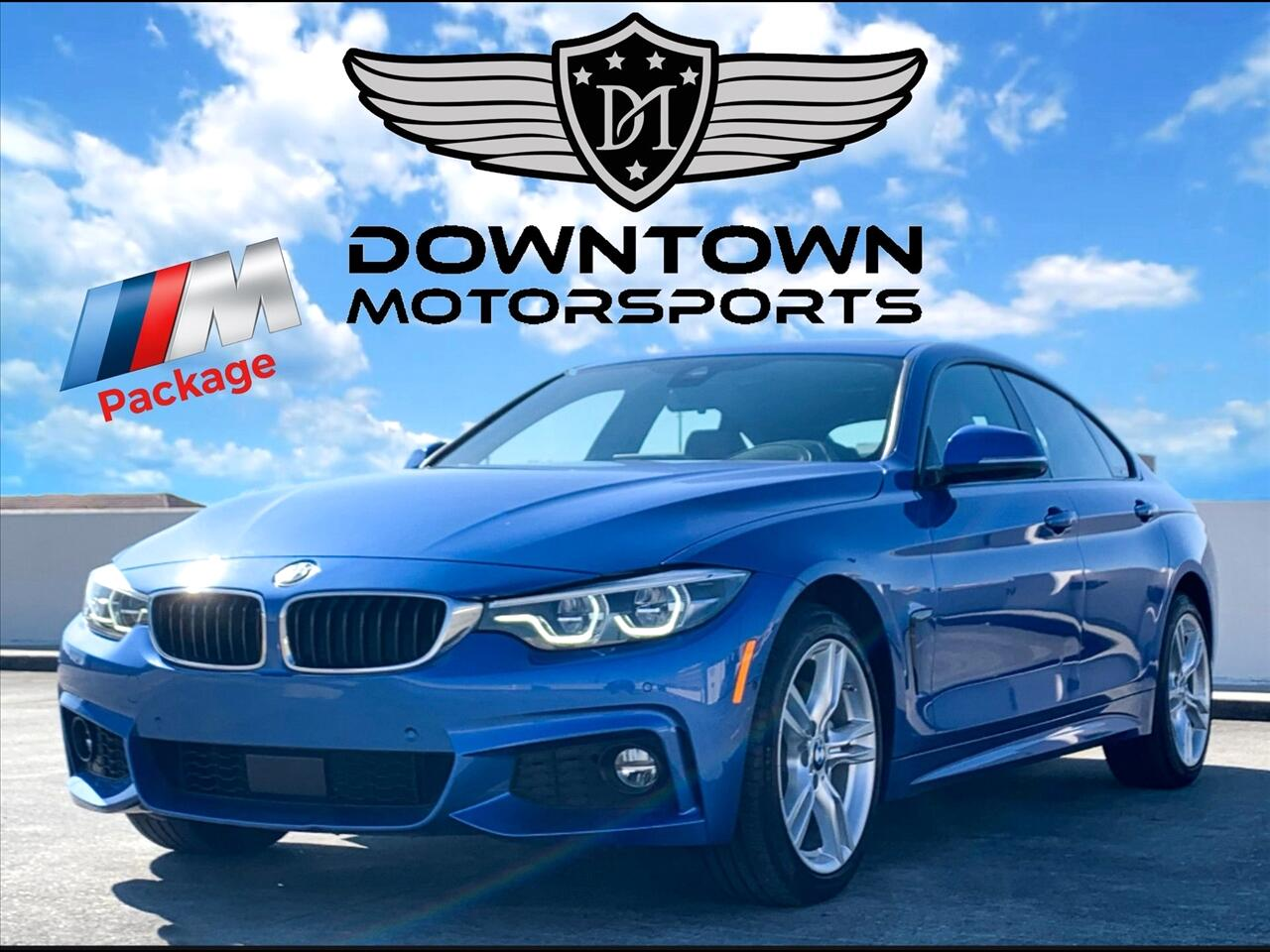 2018 BMW 4-Series 430i xDrive Gran Coupe Sedan 4D
