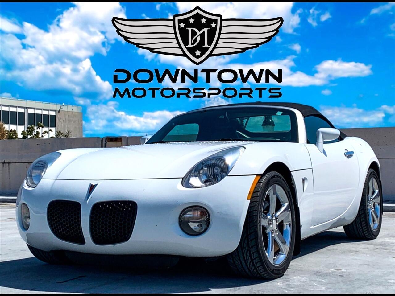 2007 Pontiac Solstice Convertible 2D