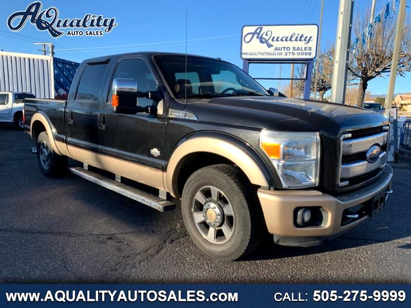 Ford F-250 SD King Ranch Crew Cab 2WD 2011