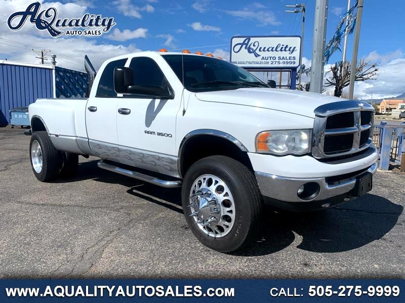 Dodge Ram 3500 SLT Quad Cab Long Bed 4WD DRW 2004
