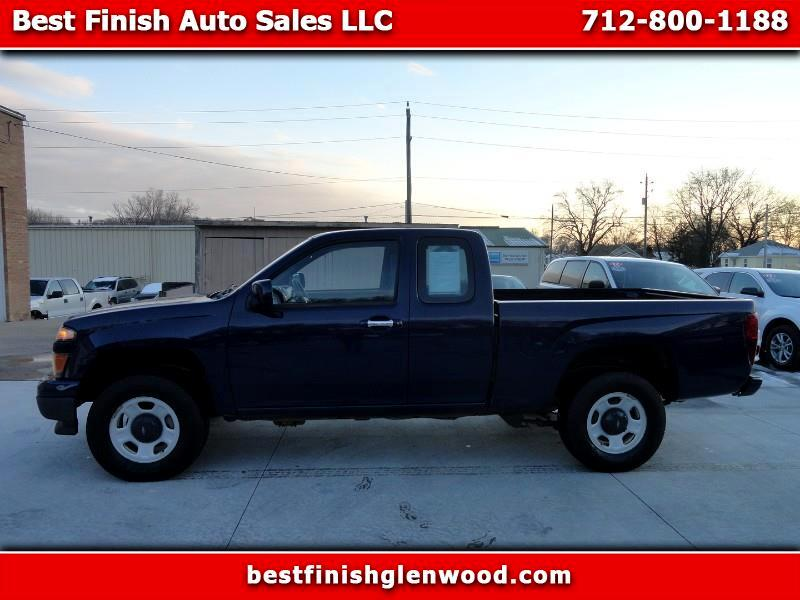 Chevrolet Colorado Work Truck Ext. Cab 4WD 2012