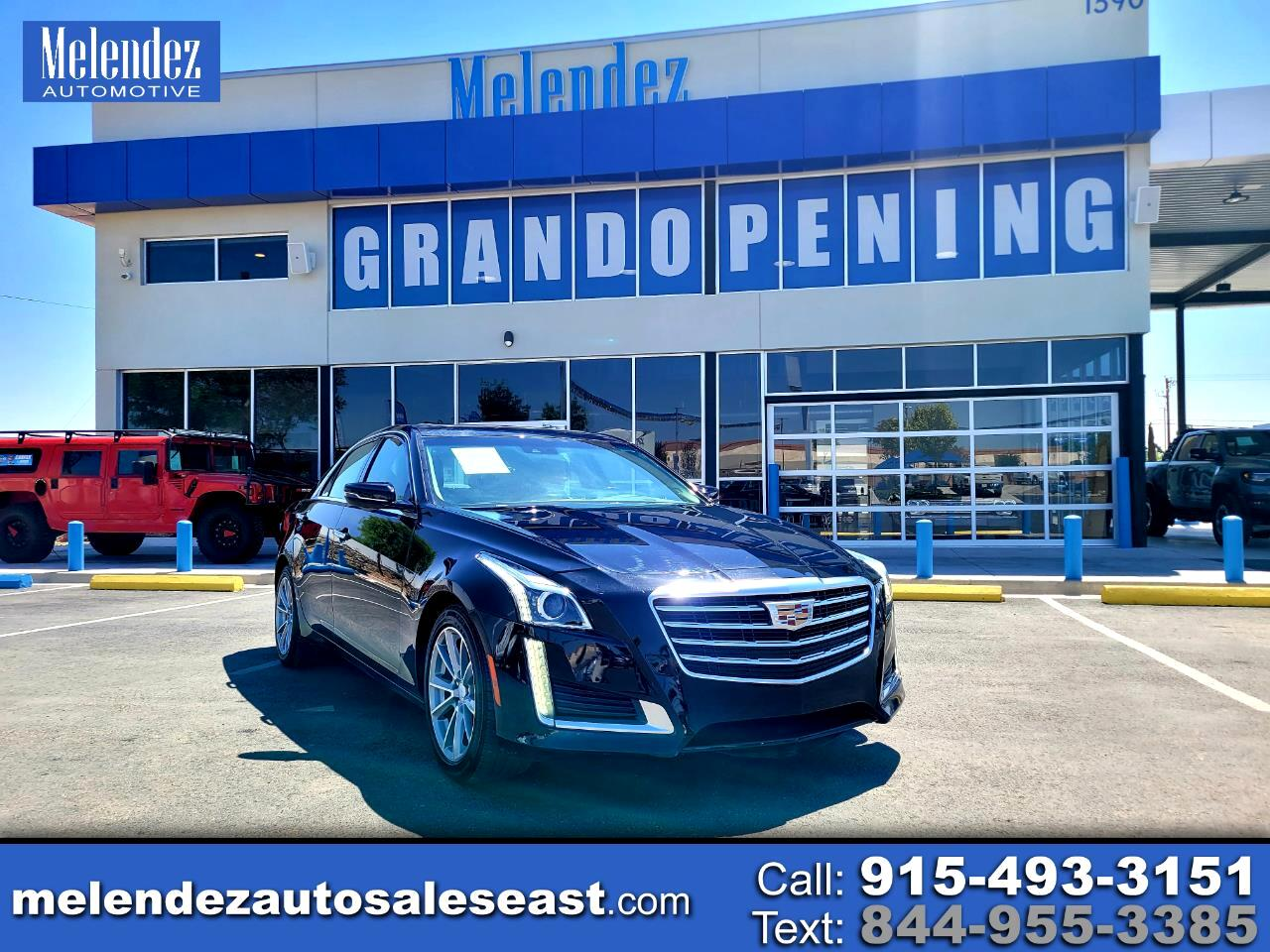 Cadillac CTS Sedan 4dr Sdn 3.6L Luxury RWD 2019