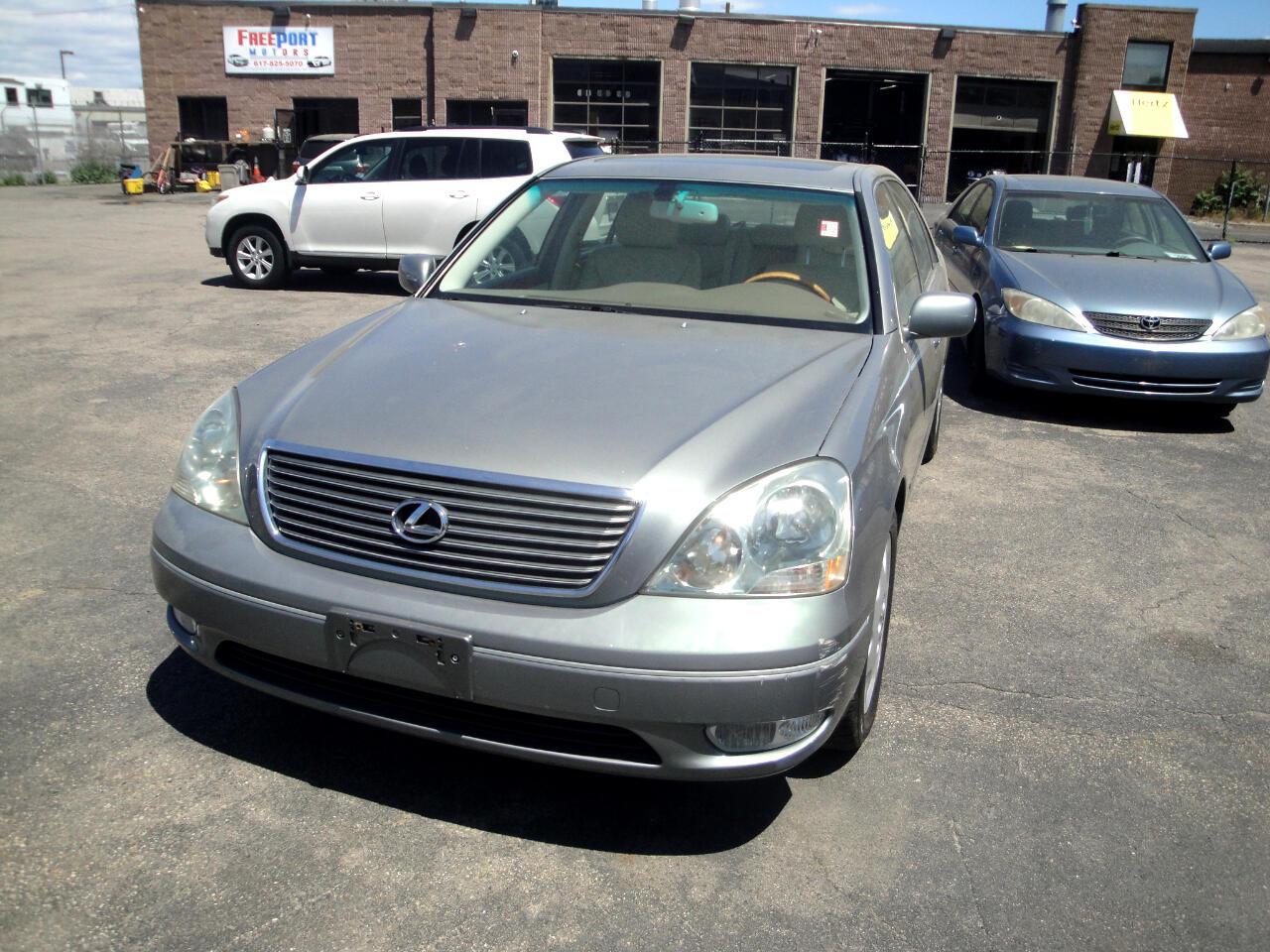 Lexus LS 430 4dr Sdn 2001