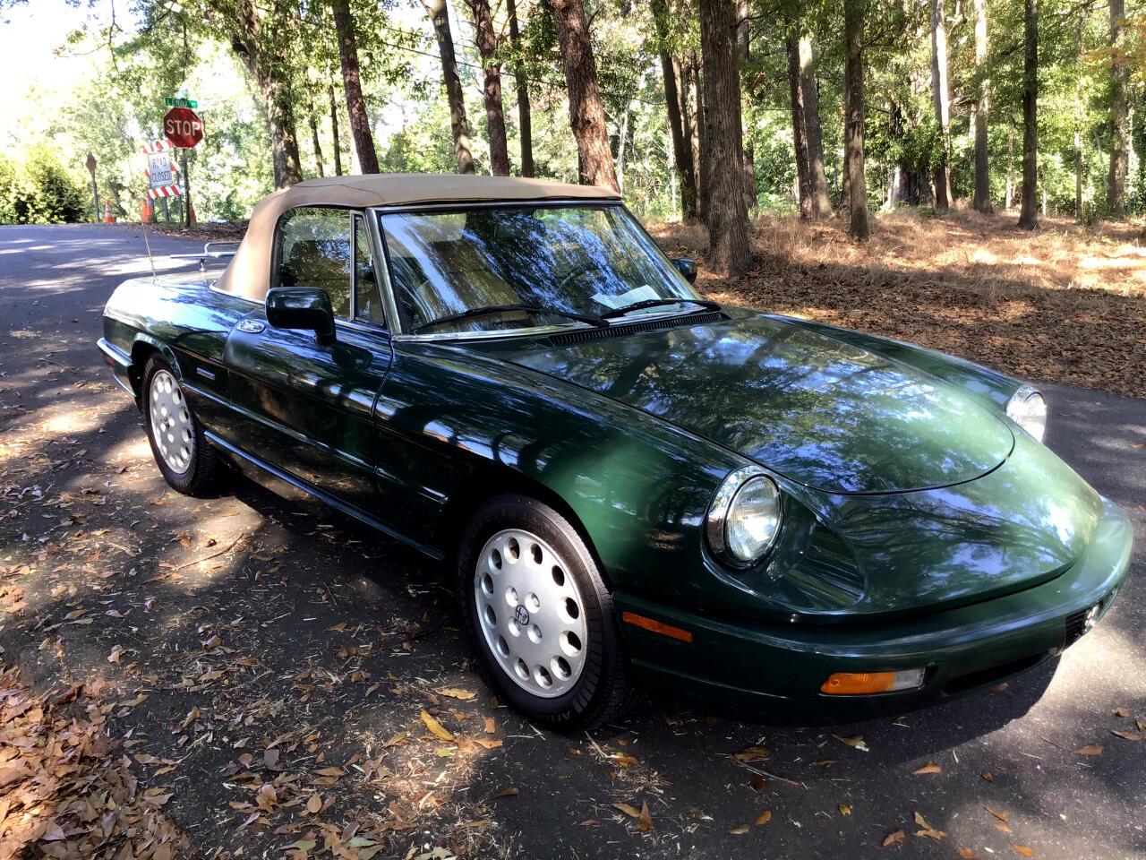 Alfa Romeo Spider Veloce convertible 1991