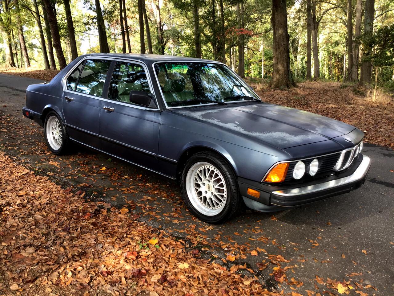 BMW 7-Series 735i automatic 1985