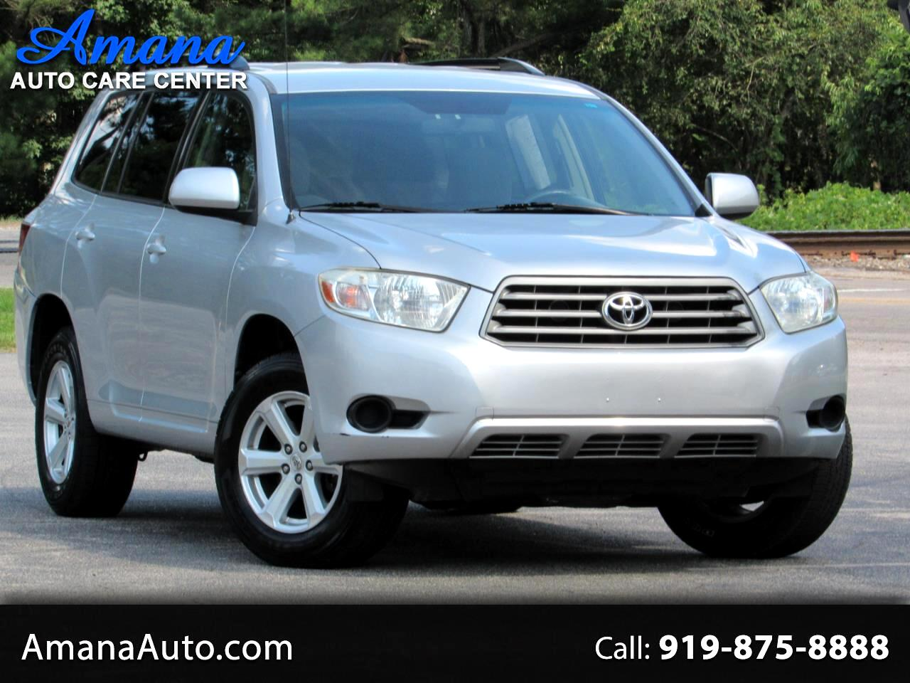 2008 Toyota Highlander FWD 4dr Base (Natl)
