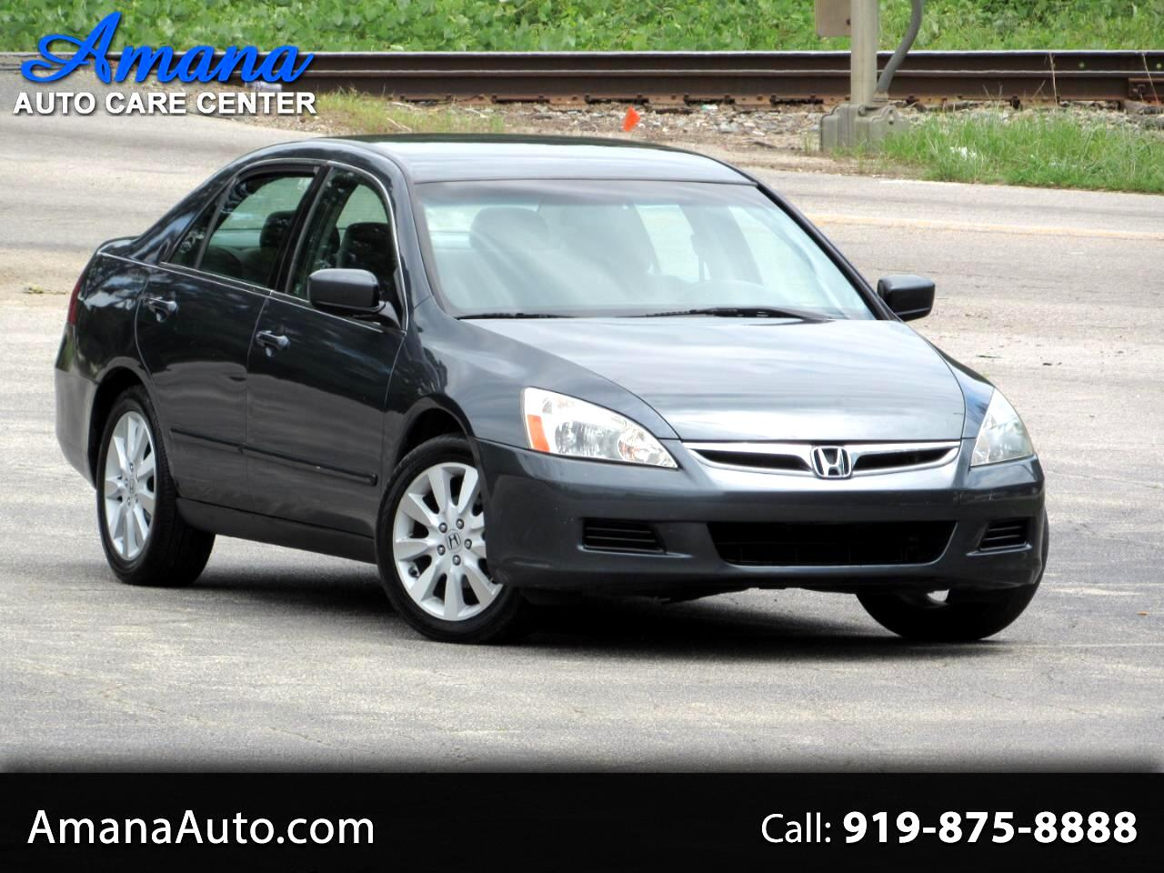 Honda Accord Sdn 4dr V6 AT LX SE 2007
