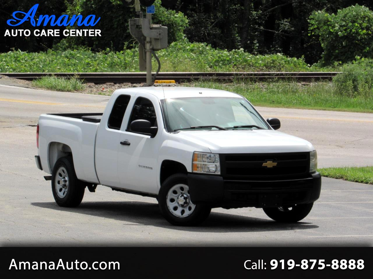 """2012 Chevrolet Silverado 1500 2WD Ext Cab 143.5"""" Work Truck"""