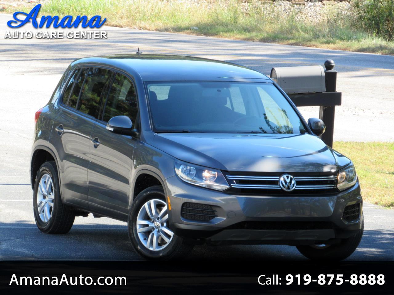 2014 Volkswagen Tiguan 4MOTION 4dr Auto S