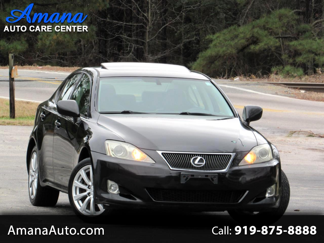 Lexus IS 250 4dr Sport Sdn AWD Auto 2006
